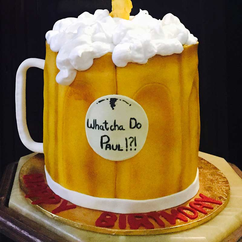 Beer Themed Cake